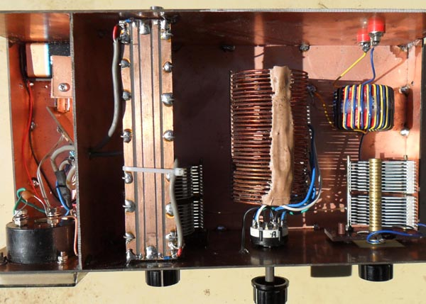 VK5AJL - Make your own HF-VHF antenna tuner