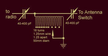 vk5ajl make your own hf vhf antenna tuner the circuit is fairly simple but construction a lot more difficult so this page will concentrate on that aspect the box is made from pcb material off cuts